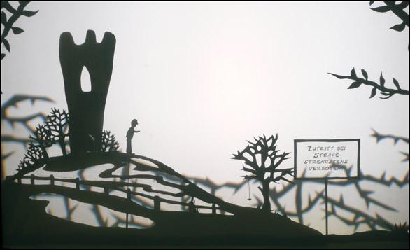 Scuraluna - Riese und Nachtigall | Schattentheater